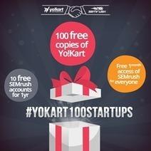 Yo!Kart Launches YoKart100Startups to Help Startups Create New Jobs across World | internet marketing | Scoop.it