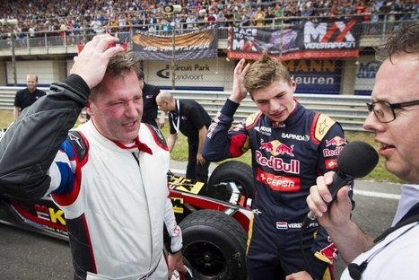 VERSTAPPEN ENDS RACING CAREER TO SUPPORT SON MAX | F 1 | Scoop.it