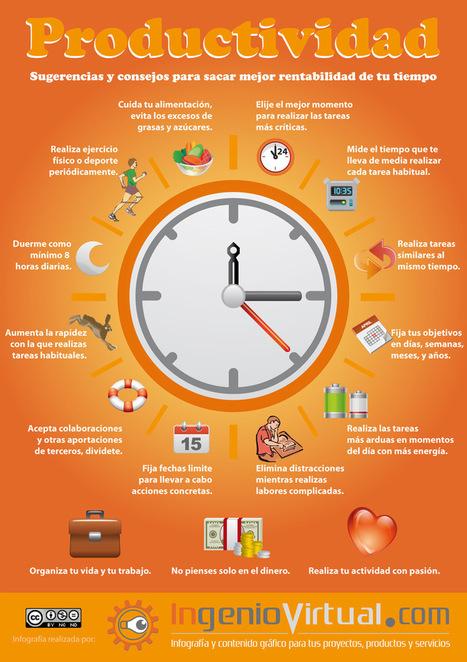 Sugerencias para aumentar la Productividad | ingeniovirtual.com | Las cosas que me importan | Scoop.it
