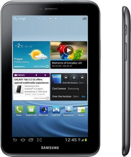 Samsung Galaxy Tab 2 (7.0) Runs Android 4.0 | Embedded Systems News | Scoop.it