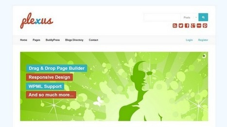 Plexus Multisite WordPress Theme | Free & Premium WordPress Themes | Scoop.it