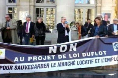 Bordeaux : les agents immobiliers manifestent contre la loi Duflot ...   cottage immo   Scoop.it