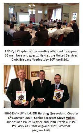 ASIS Queensland Chapter : Australian Security Magazine ...   ASIS   Scoop.it