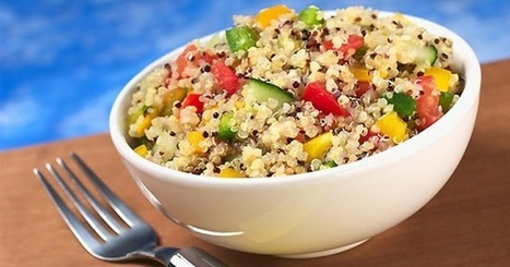 Useful Weight Loss Ideas: Mediterranean Quinoa Salad Recipe | Useful Weight loss Ideas | Scoop.it