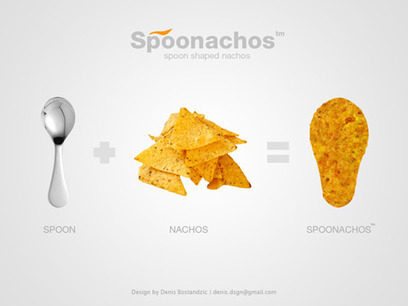 Spoonachos – The Nacho Chip Spoon You Can Eat! | mexicanismos | Scoop.it