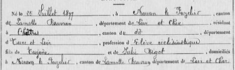 Eugène Ernest MÉTREAU, l'abbé défroqué | GenealoNet | Scoop.it