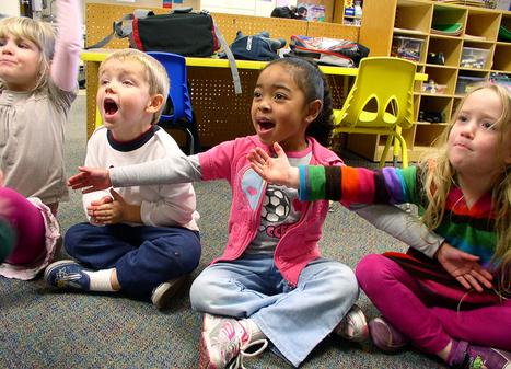 'All together now': using songs and actions for kindergarten classroom management | Effective Behavior in Kindergarten! | Scoop.it