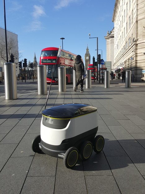 Robot delivery Service takes to streets of Europe | Urbanismo, urbano, personas | Scoop.it