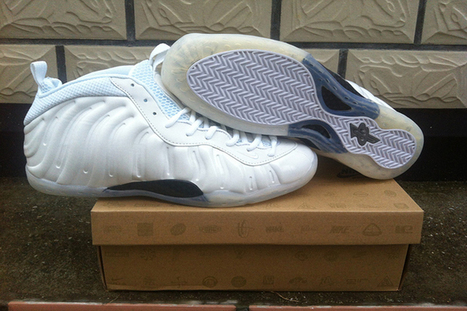 White Summit White Nike Air Foamposite One Basketball Shoes Men's | new style | Scoop.it