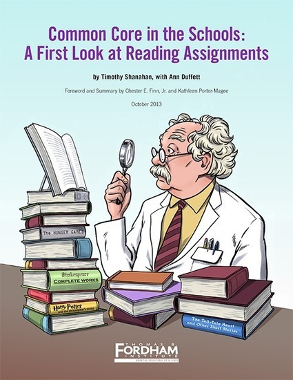 Common Core in the Schools: A First Look at Reading Assignments | Common Core ELA | Scoop.it
