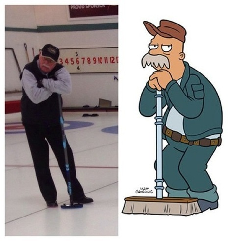 20 People with Cartoon Lookalikes | Feed Castle | Articles | Scoop.it