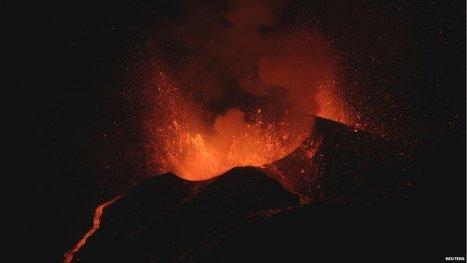 In pictures: Pico do Fogo volcano in Cape Verde erupts   Geology   Scoop.it