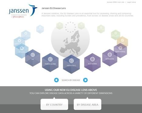 Janssen lance un outil interactif sur les maladies les plus répandues en Europe MyPharma Editions | L'Info Industrie & Politique de Santé | 9- PHARMA MULTI-CHANNEL MARKETING  by PHARMAGEEK | Scoop.it