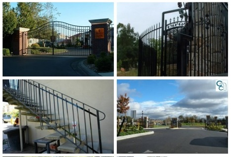Iron and Electronic Entry Gates Suppliers in Sacramento, CA   Find unique Design on Wrought Iron Gates in Roseville, Sacramento   Scoop.it
