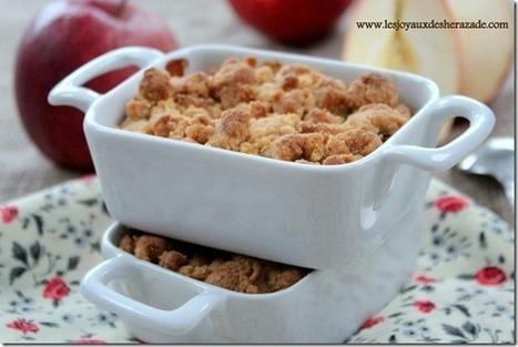 Crumble aux pommes | Les recette de les joyaux de sherazade | Scoop.it