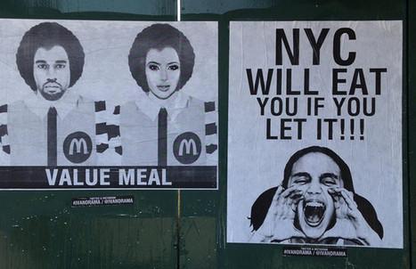 Artist Ivan Orama Explains His Kanye West McDonald Street Art | Scott's Linkorama | Scoop.it