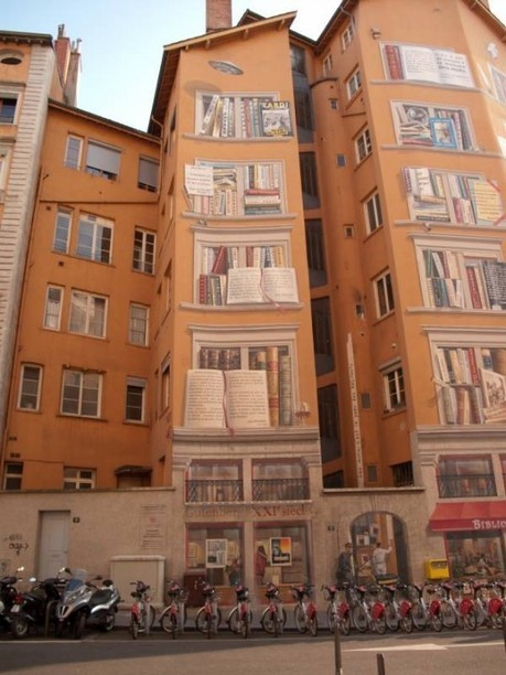 25 amazing street art and mural works about books, libraries and reading   Librarysoul   Scoop.it