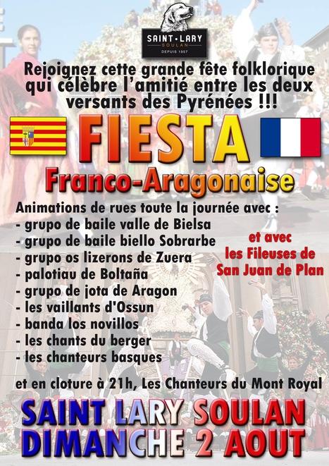 Fête franco-aragonaise à Saint-Lary le 2 août | Vallée d'Aure - Pyrénées | Scoop.it