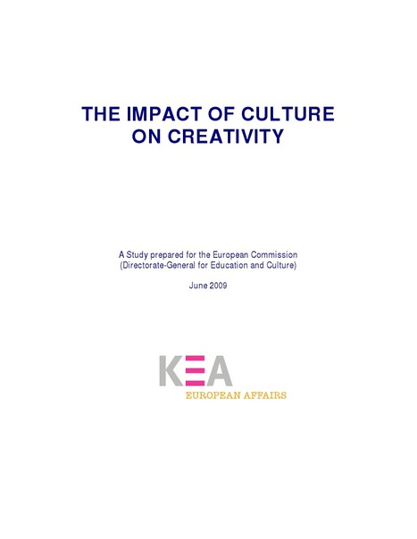 The impact of Culture on Creativity.PDF - Google Drive | :: The 4th Era :: | Scoop.it
