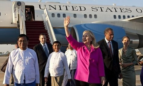 Clinton Arrives in Myanmar to Assess Reforms and Urge More | Coveting Freedom | Scoop.it