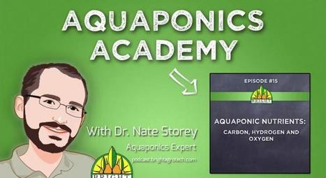 Episode 15: Carbon, Oxygen, and Hydrogen in Aquaponics | Vertical Farm - Food Factory | Scoop.it
