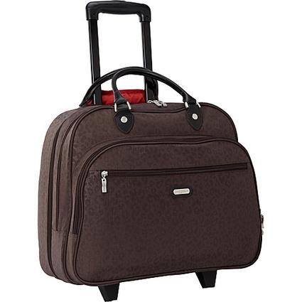 "baggallini Rolling Tote Bagg 17"" Crinkle Nylon Cheetah ES - baggallini Luggage Totes and Satchels | I love designer handbags | Scoop.it"