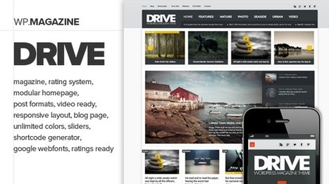 Drive - Premium and Responsive WordPress Download | wordpress | Scoop.it