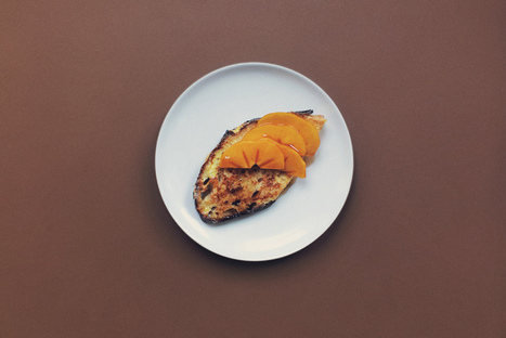 My Cooking Diary - Persimmons French Toast | Scratch Cooking | Scoop.it