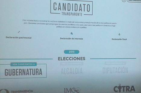 Vigilan transparencia en patrimonio de candidatos | Gobierno Abierto & Cñía | Scoop.it