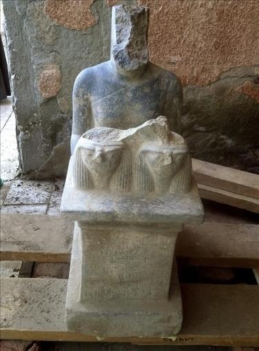 Descubren dos estatuas faraónicas de hace 3.500 años en un templo de Luxor   Arqueología, Historia Antigua y Medieval - Archeology, Ancient and Medieval History byTerrae Antiqvae (Blogs)   Scoop.it