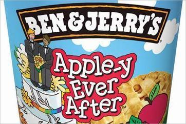Photo: Ben and Jerry's homage to gay marriage.  | Who Voted for Your Marriage? | Scoop.it
