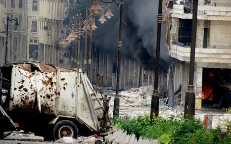 Syria chemical weapons: finger pointed at jihadists - Telegraph   Global politics   Scoop.it
