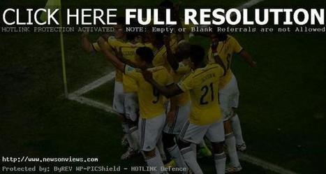 Rodríguez-double: Colombia in the World Cup quarter-finals | Latest News | Scoop.it