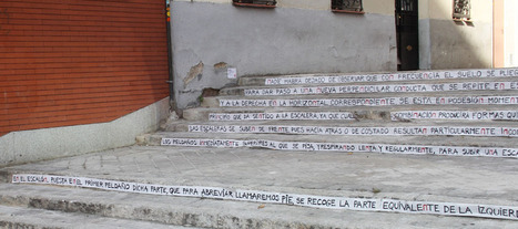 Les instructions de Cortazar pour monter un escalier... en pleine rue | BiblioLivre | Scoop.it