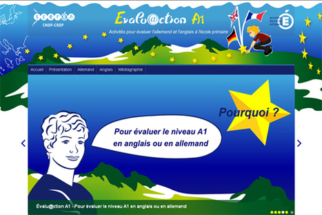 Évalu@ction A1 du CERCL (anglais-allemand) | | Web2.0 et langues | Scoop.it