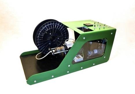 Filabot – Recyclez votre plastique pour nourrir votre imprimante 3D   Korben   Fab(rication)Lab(oratories)   Scoop.it