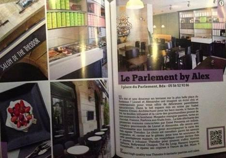 THEODOR : Bordeaux Presse | Le Parlement by Alex, Salon de thé THEODOR dans Down Town City Guide | THEODOR MEXICO | Scoop.it