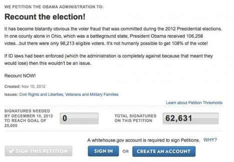 There Will Be No National Recount Of The 2012 Election - The Blaze | 2012 Presidential Electon | Scoop.it