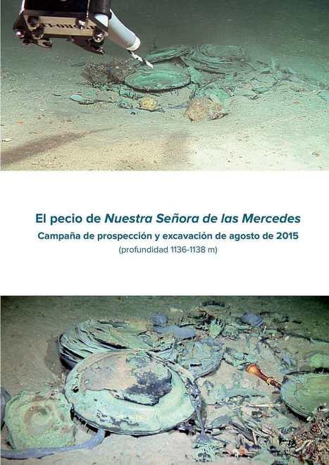 Informe completo sobre la campaña 2015 de ARQVA en el Nuestra Señora de las Mercedes...¡Disponible! | Arqueología submarina y subacuática, Navegación histórica,  Ciencias y Técnicas Auxiliares y afines. Investigando en Arqueología  Submarina. | Scoop.it
