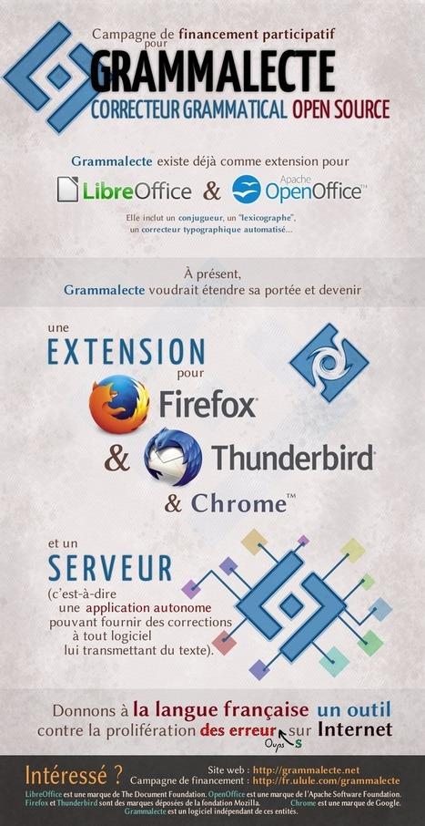 Grammalecte, correcteur grammatical | TICE. CDI du LP Clément Ader | Scoop.it