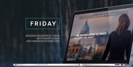 Friday v1.0.6 - Multi-Purpose Ultimate Wordpress Theme - Nulled WP | Wordpress Themes | Scoop.it