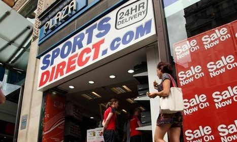 Sports Direct: 90% of staff on zero-hour contracts | #BUSS3 from Vision West Notts | Scoop.it