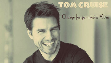 How Much Tom Cruise Charge Fee Per Movie | Salary, Income | Fashion | Scoop.it