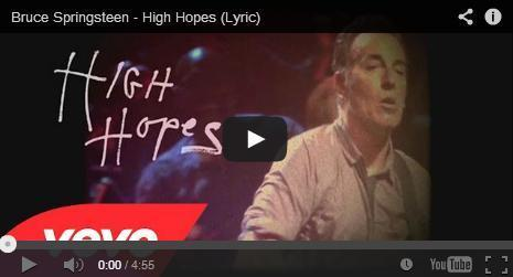 #HighHopes >>> #Springsteen's new single! | Política & Rock'n'Roll | Scoop.it