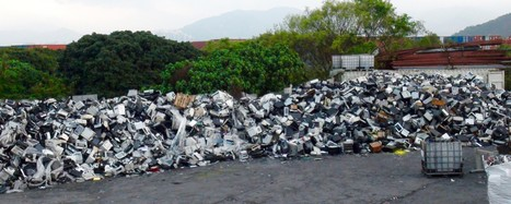 A Shocking Amount of E-Waste Recycling Is a Complete Sham | The EcoPlum Daily | Scoop.it