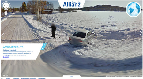 Allianz France uses Google Street View to show ways people need insurance | Advertisement | Scoop.it