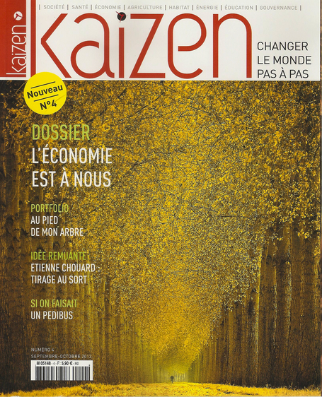 Kaizen n°4 est en kiosque | Economies Locales Vivantes | Scoop.it