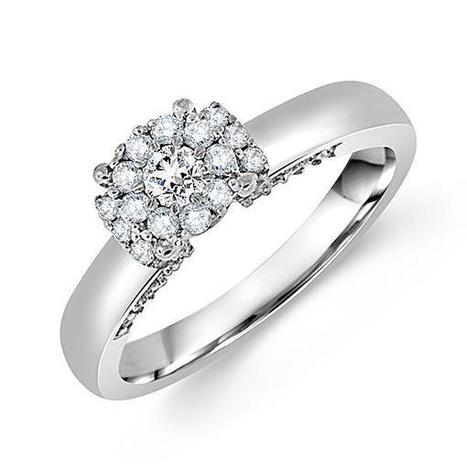 Comfort Fit Round Diamond Engagement Ring | Diamond Engagement Ring | Scoop.it