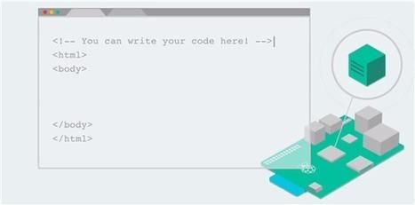 Avec Coder, Google transforme le Raspberry Pi en un serveur web | Time to Learn | Scoop.it