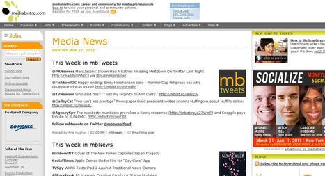 mediabistro   Top sites for journalists   Scoop.it